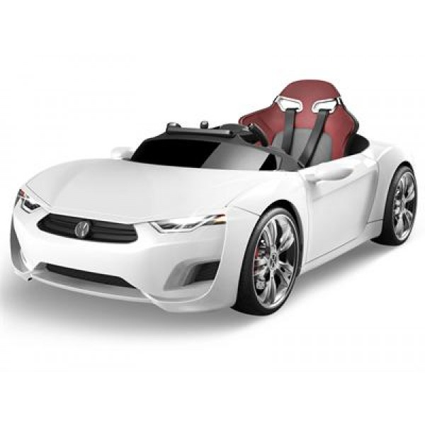 Broon F830 12v Car with Tablet (RC) White