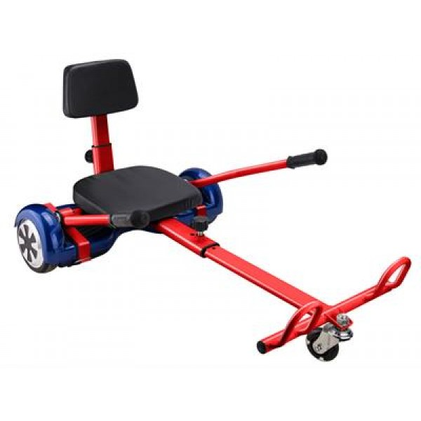 Hover Go Kart Attachment Red