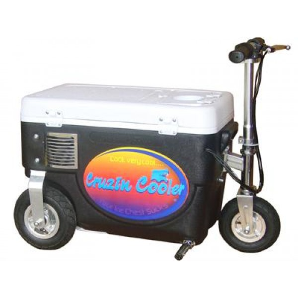 Cooler Scooter 1000w Black