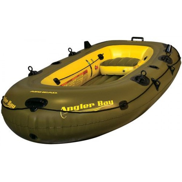 AIRHEAD ANGLER BAY Inflatable Boat 4 Person