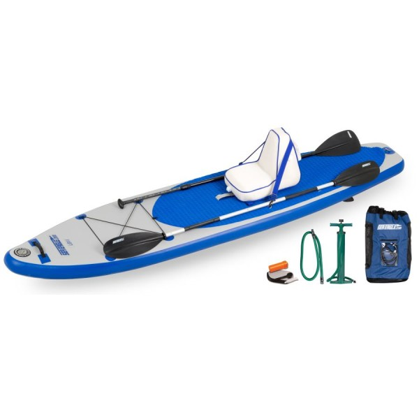 Sea Eagle Inflatable Paddle Board 11ft Incl 6.5ft Paddle Carry Bag